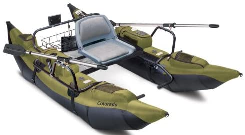 The Most Popular One Man Pontoon Boat In 2021 - 41a6wIV+7CL. AC